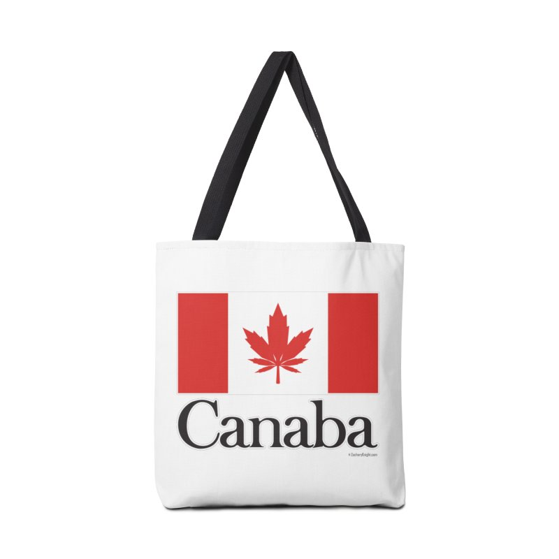 Canaba - Style A Accessories Tote Bag Bag by Zachary Knight | Artist Shop
