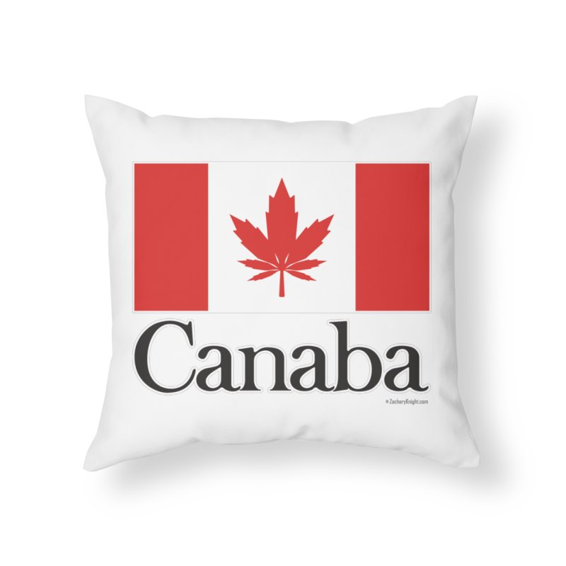Canaba - Style A Home Throw Pillow by Zachary Knight   Artist Shop