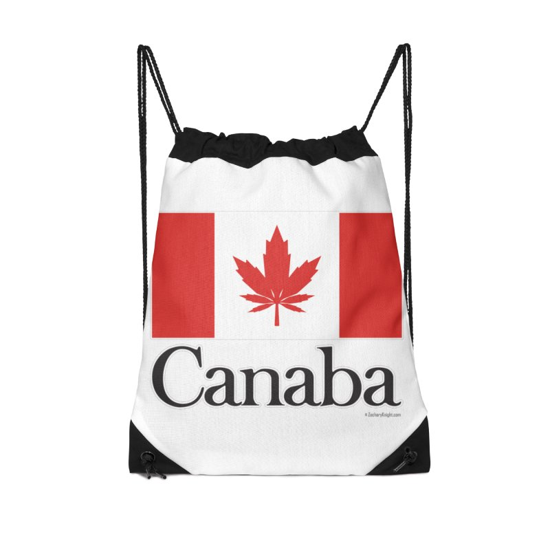 Canaba - Style A Accessories Drawstring Bag Bag by Zachary Knight | Artist Shop
