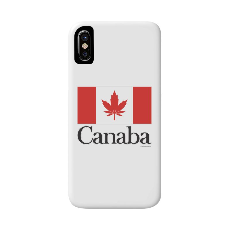 Canaba - Style A Accessories Phone Case by Zachary Knight | Artist Shop