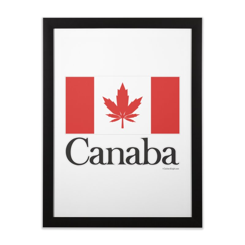 Canaba - Style A Home Framed Fine Art Print by Zachary Knight | Artist Shop