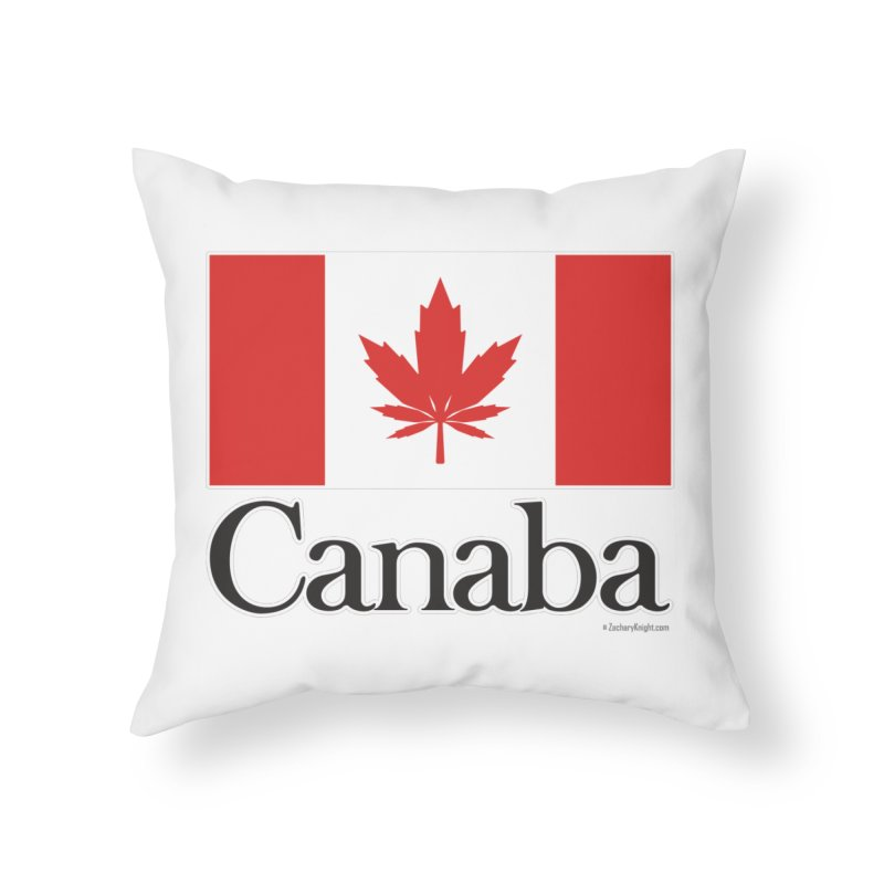 Canaba - Style A Home Throw Pillow by Zachary Knight | Artist Shop