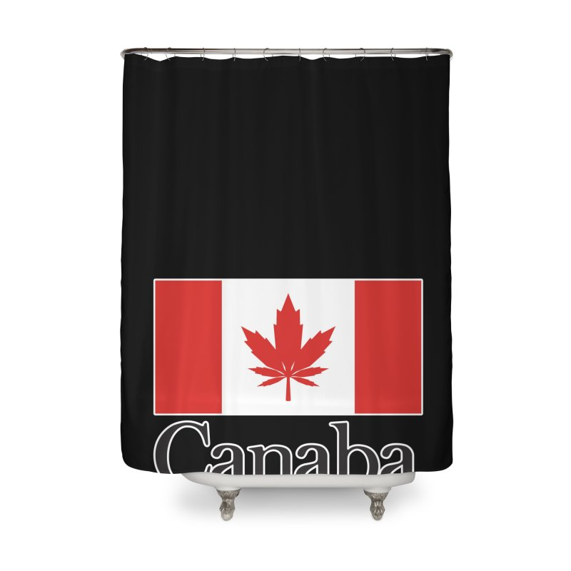 Canaba - Style A Home Shower Curtain by Zachary Knight | Artist Shop