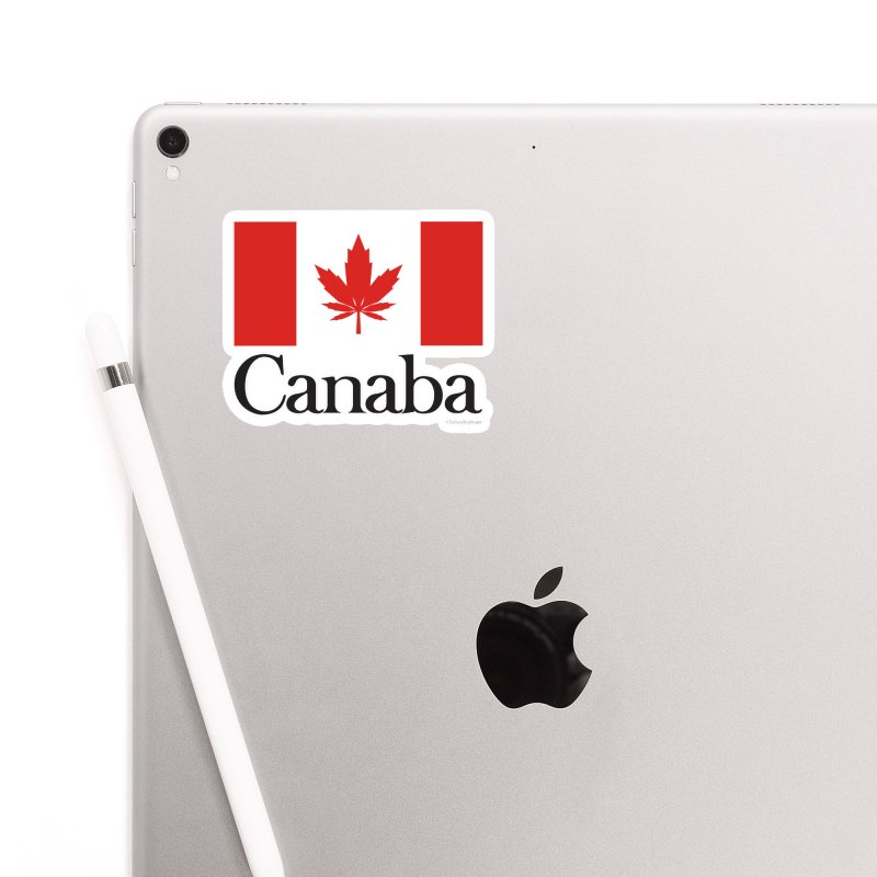 Canaba - Style A Accessories Sticker by Zachary Knight | Artist Shop