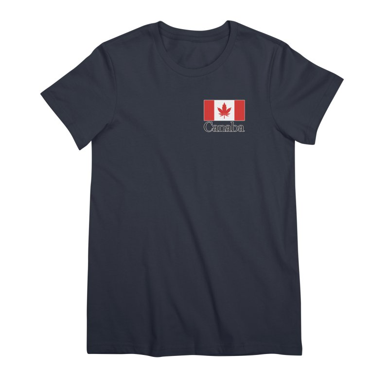 Canaba - Style A - Pocket Women's Premium T-Shirt by Zachary Knight | Artist Shop