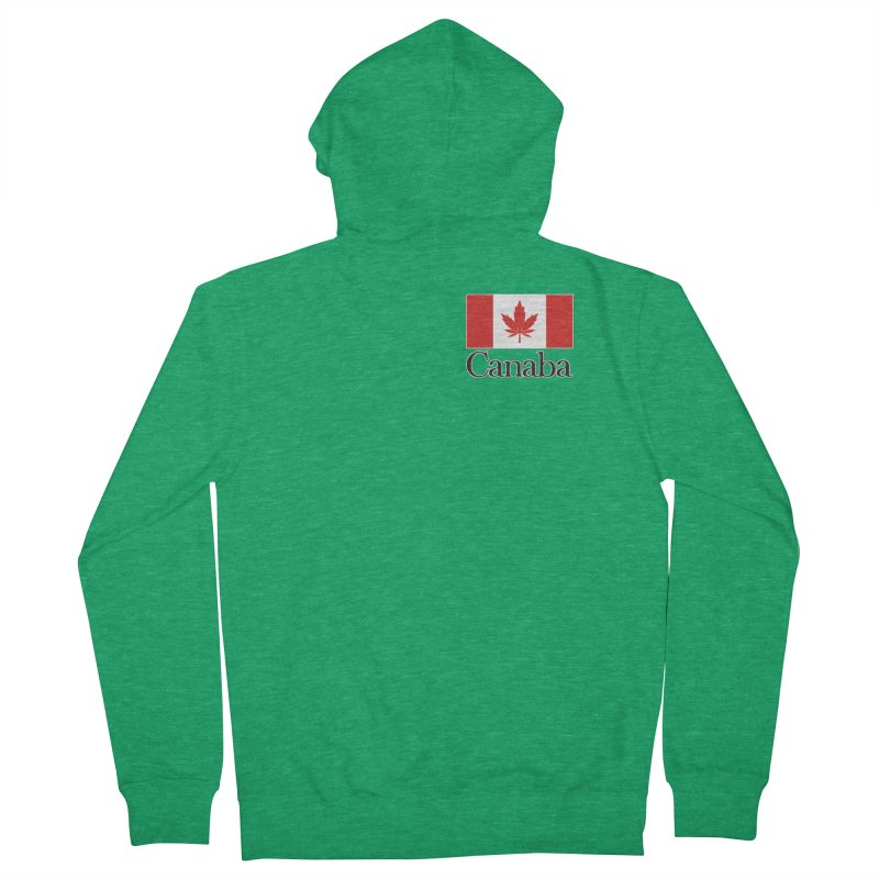 Canaba - Style A - Pocket Women's Zip-Up Hoody by Zachary Knight   Artist Shop