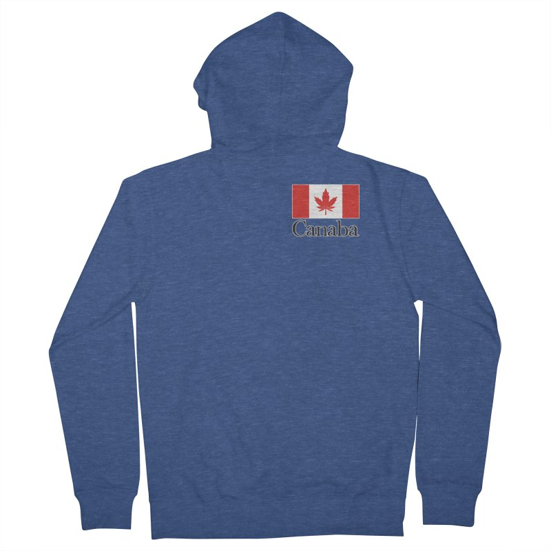 Canaba - Style A - Pocket Women's French Terry Zip-Up Hoody by Zachary Knight   Artist Shop