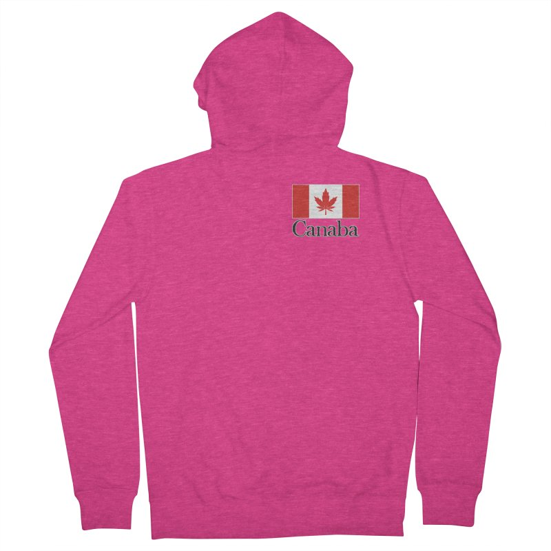 Canaba - Style A - Pocket Women's Zip-Up Hoody by Zachary Knight | Artist Shop
