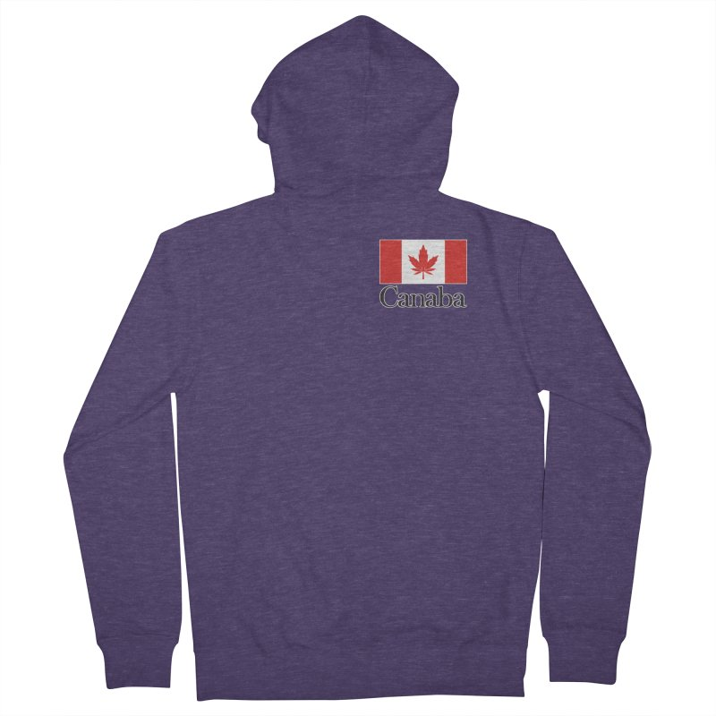 Canaba - Style A - Pocket Men's Zip-Up Hoody by Zachary Knight   Artist Shop