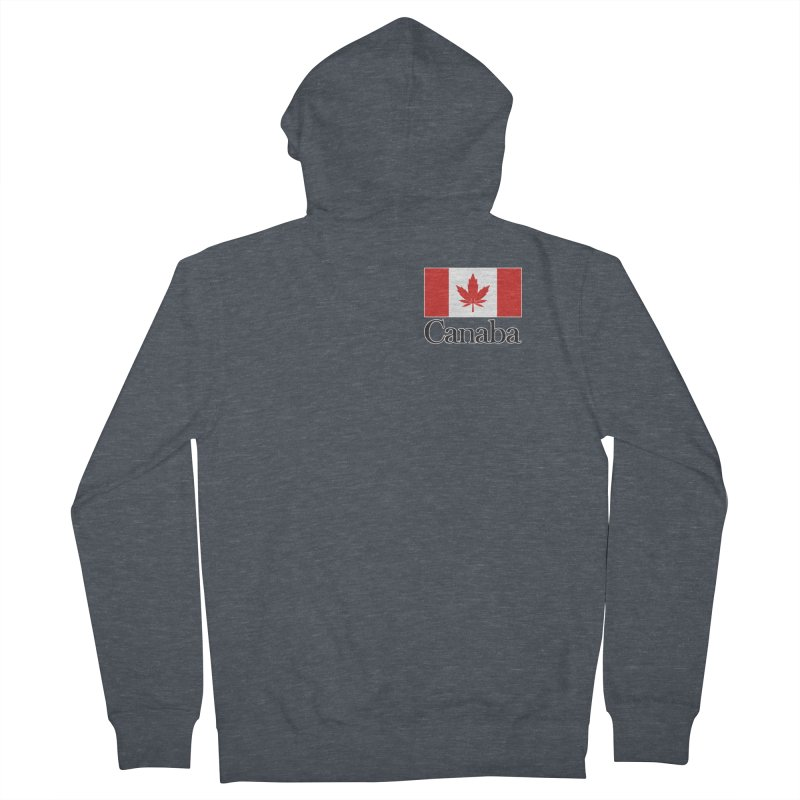 Canaba - Style A - Pocket Men's Zip-Up Hoody by Zachary Knight | Artist Shop