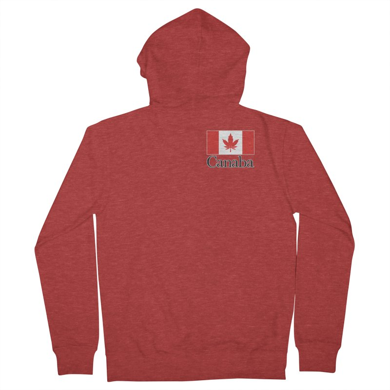 Canaba - Style A - Pocket Men's French Terry Zip-Up Hoody by Zachary Knight | Artist Shop