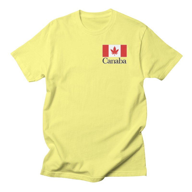 Canaba - Style A - Pocket Women's Regular Unisex T-Shirt by Zachary Knight | Artist Shop