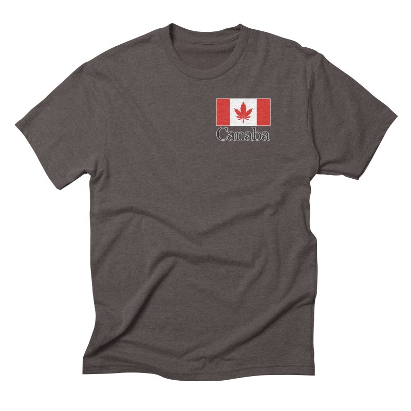 Canaba - Style A - Pocket Men's Triblend T-Shirt by Zachary Knight | Artist Shop