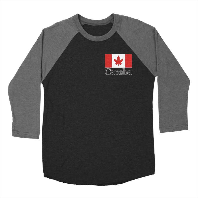 Canaba - Style A - Pocket Women's Baseball Triblend Longsleeve T-Shirt by Zachary Knight | Artist Shop
