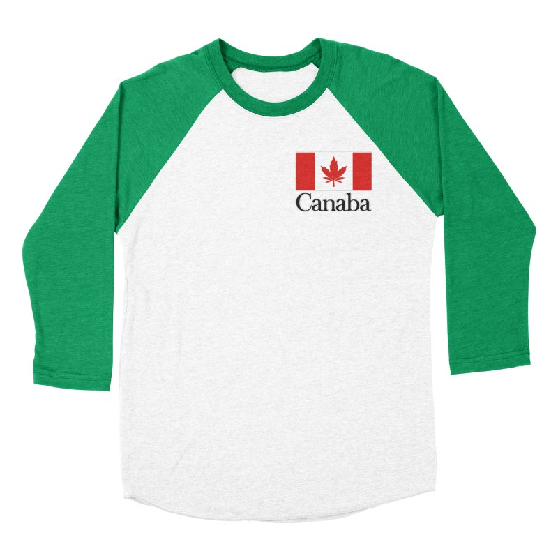 Canaba - Style A - Pocket Men's Baseball Triblend Longsleeve T-Shirt by Zachary Knight | Artist Shop