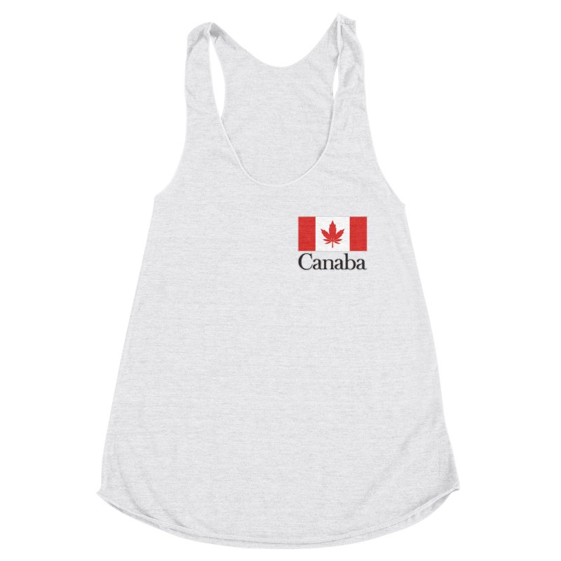 Canaba - Style A - Pocket Women's Racerback Triblend Tank by Zachary Knight | Artist Shop