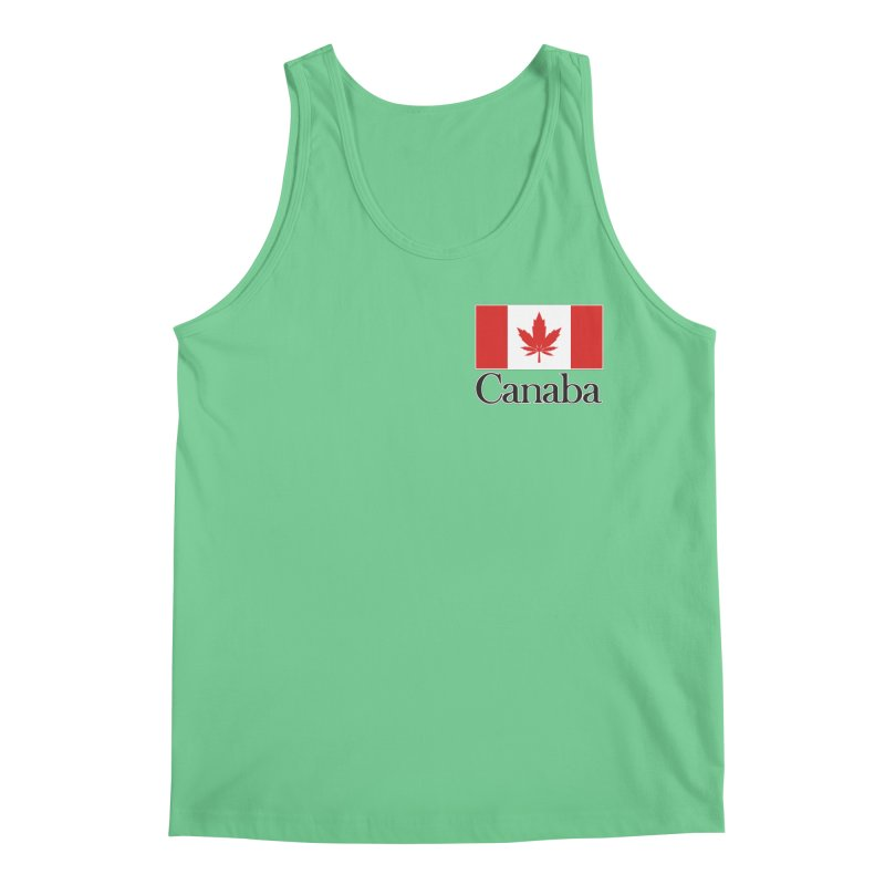 Canaba - Style A - Pocket Men's Regular Tank by Zachary Knight | Artist Shop