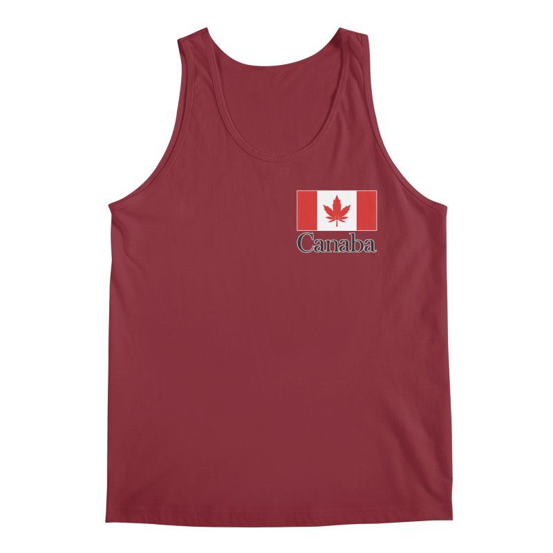 Canaba - Style A - Pocket Men's Tank by Zachary Knight | Artist Shop