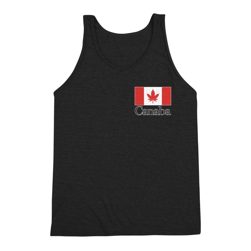 Canaba - Style A - Pocket Men's Triblend Tank by Zachary Knight | Artist Shop