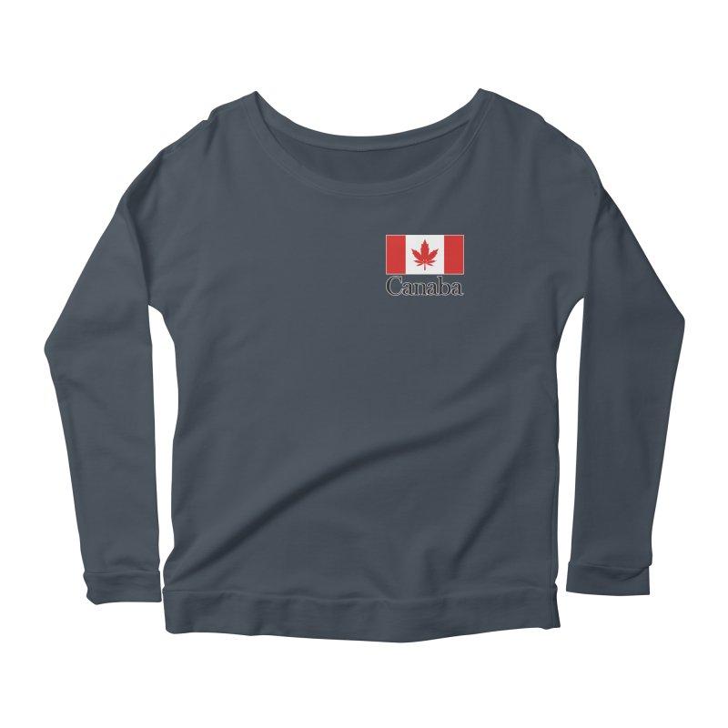 Canaba - Style A - Pocket Women's Scoop Neck Longsleeve T-Shirt by Zachary Knight | Artist Shop