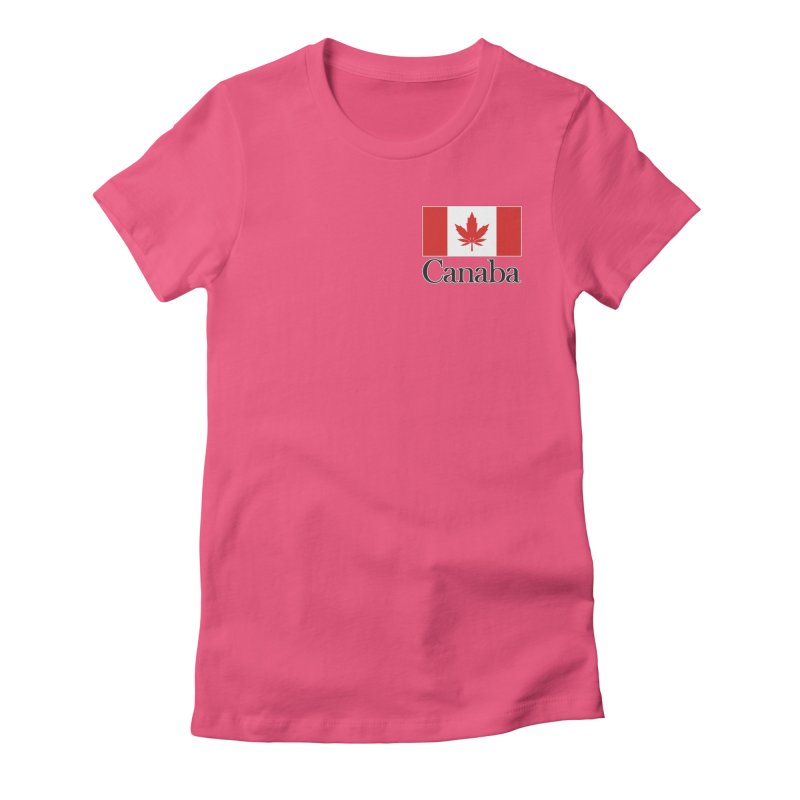 Canaba - Style A - Pocket Women's Fitted T-Shirt by Zachary Knight | Artist Shop