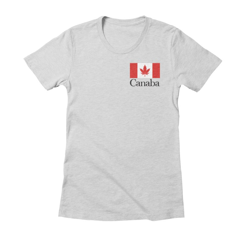 Canaba - Style A - Pocket Women's T-Shirt by Zachary Knight | Artist Shop