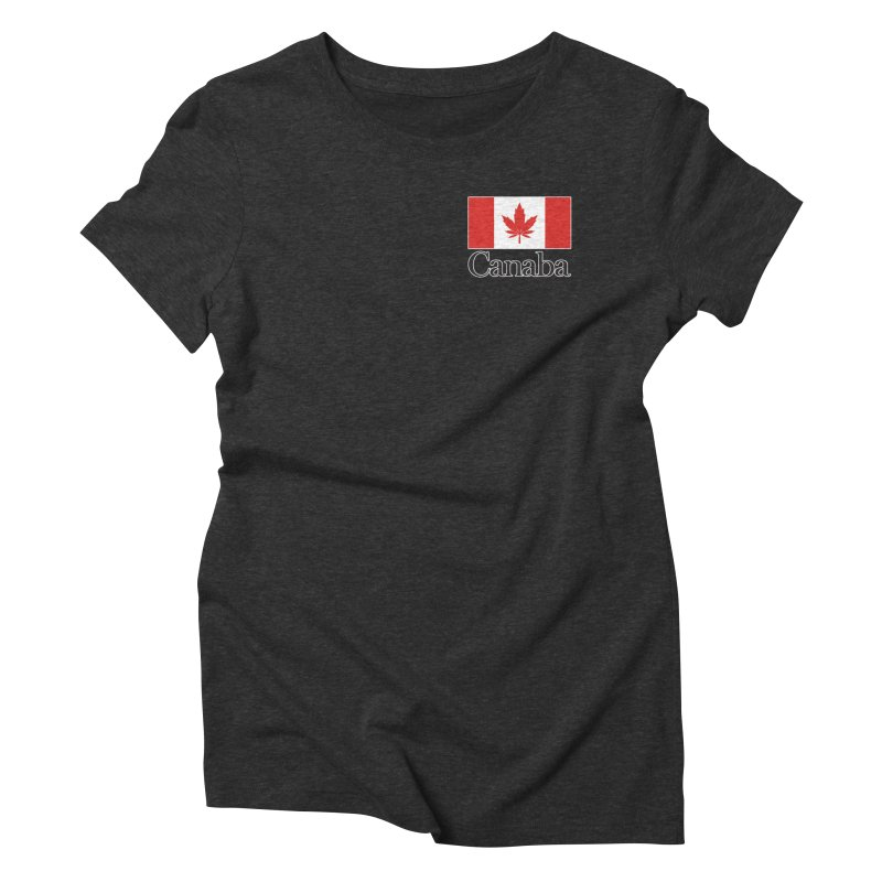 Canaba - Style A - Pocket Women's Triblend T-Shirt by Zachary Knight | Artist Shop