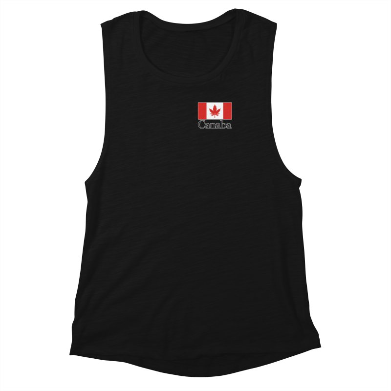 Canaba - Style A - Pocket Women's Muscle Tank by Zachary Knight | Artist Shop