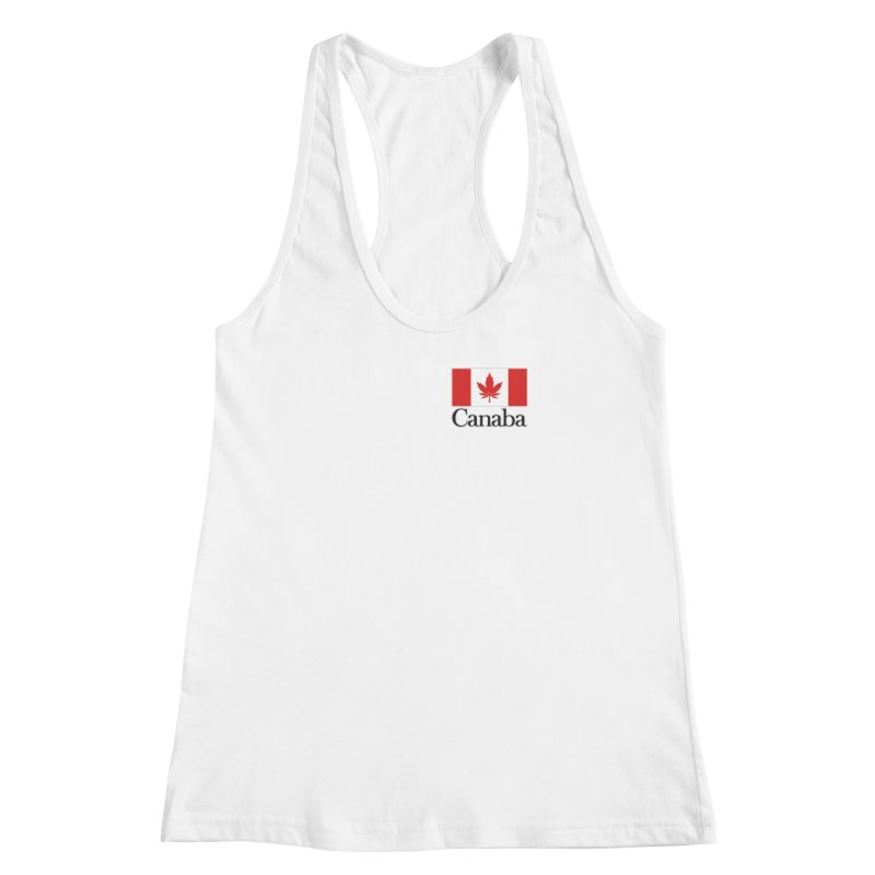 Canaba - Style A - Pocket Women's Racerback Tank by Zachary Knight | Artist Shop