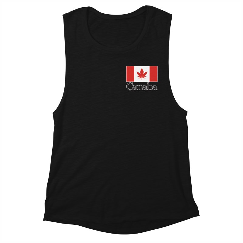 Canaba - Style A - Pocket Women's Muscle Tank by Zachary Knight   Artist Shop