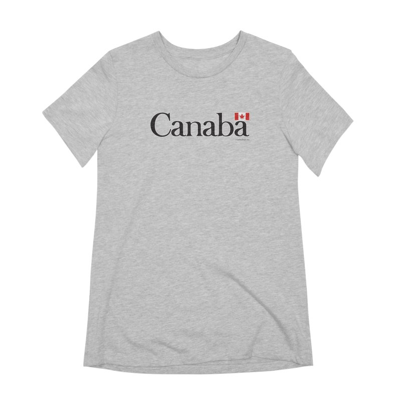 Canaba - Style B Women's Extra Soft T-Shirt by Zachary Knight | Artist Shop