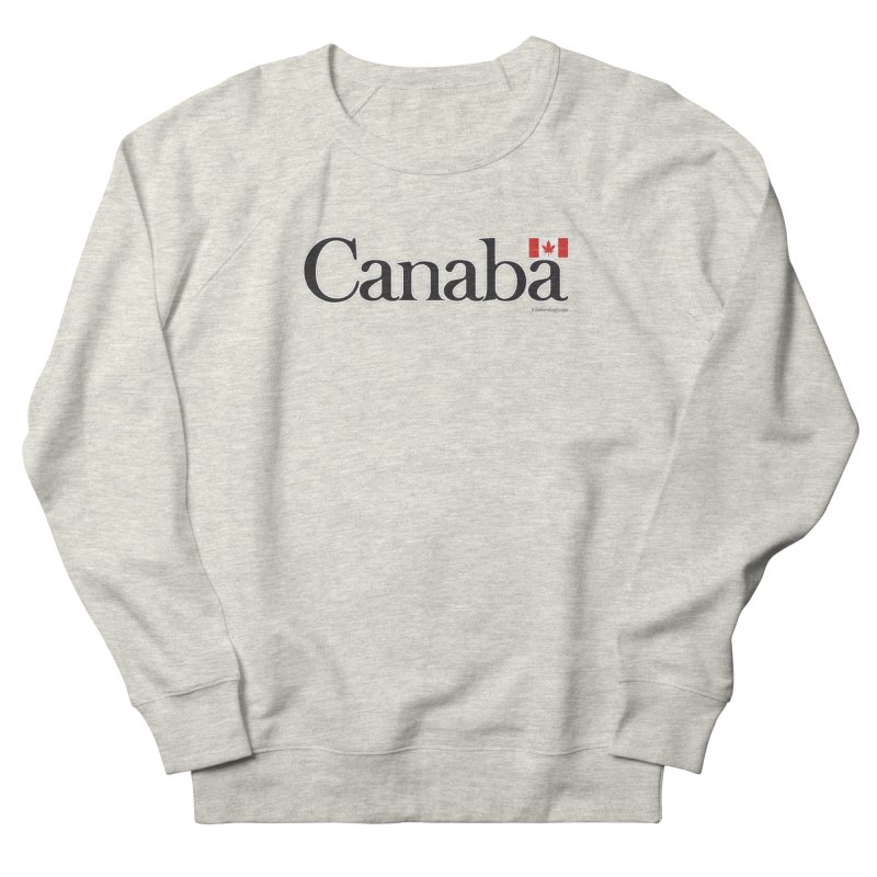 Canaba - Style B Women's French Terry Sweatshirt by Zachary Knight | Artist Shop