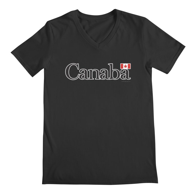 Canaba - Style B Men's Regular V-Neck by Zachary Knight | Artist Shop