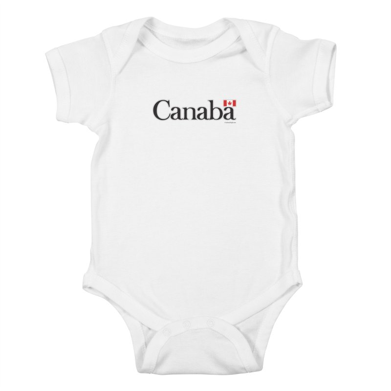 Canaba - Style B Kids Baby Bodysuit by Zachary Knight | Artist Shop