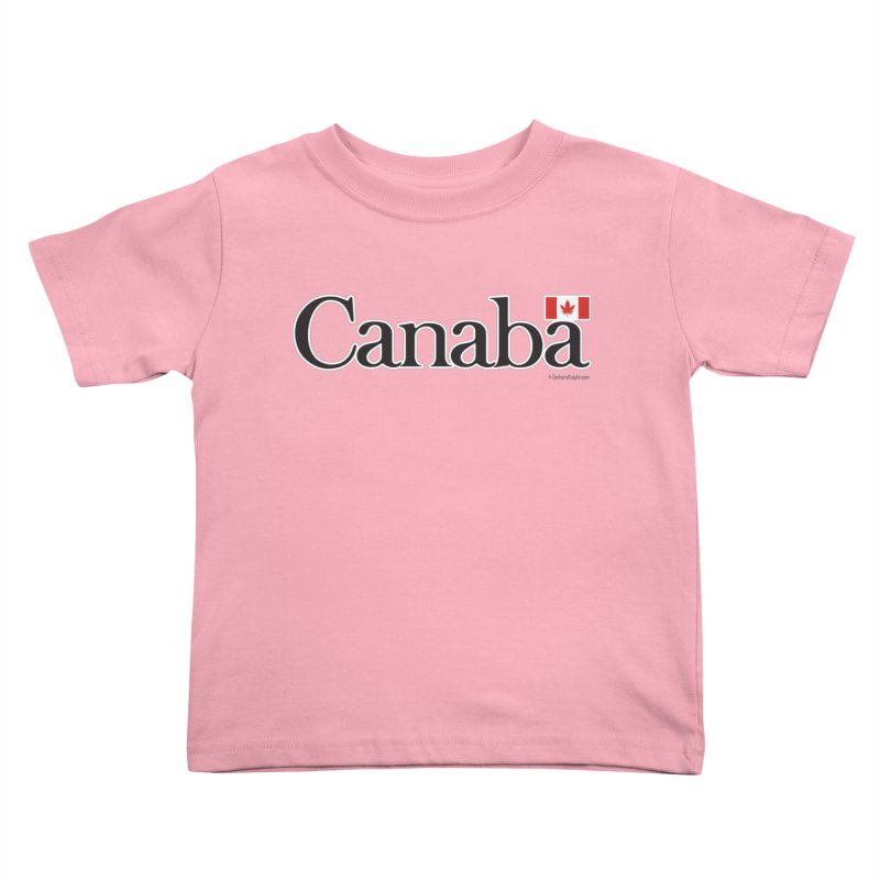 Canaba - Style B Kids Toddler T-Shirt by Zachary Knight | Artist Shop
