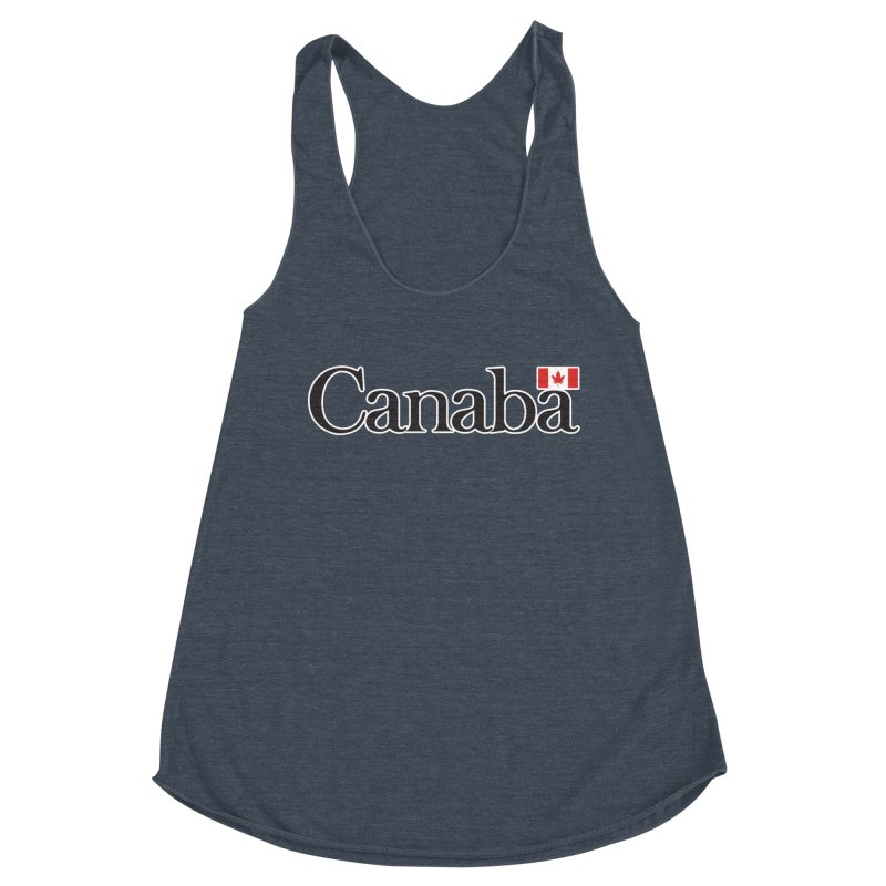Canaba - Style B Women's Racerback Triblend Tank by Zachary Knight | Artist Shop