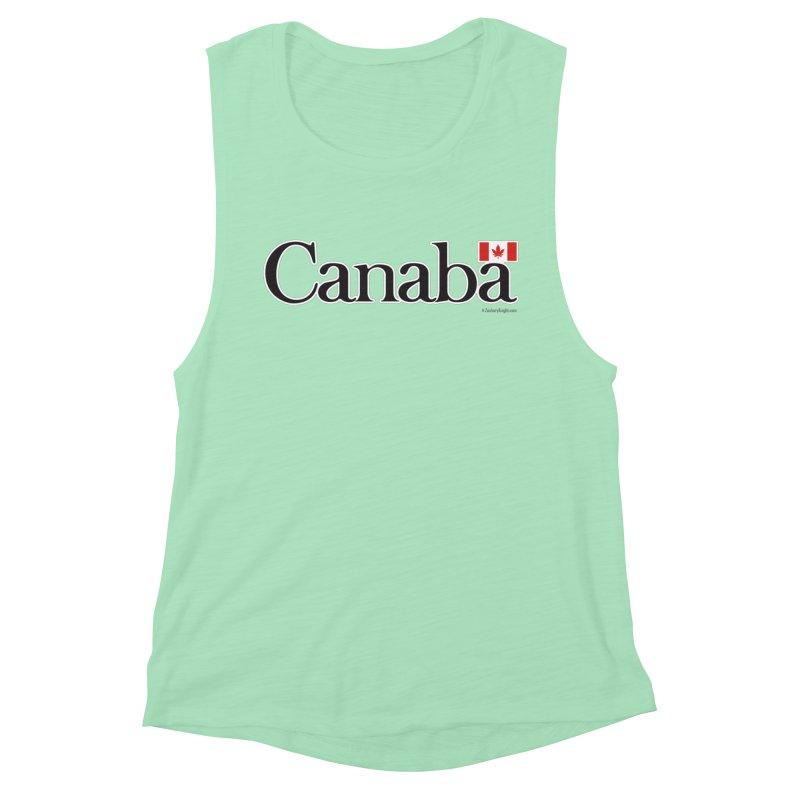 Canaba - Style B Women's Muscle Tank by Zachary Knight | Artist Shop
