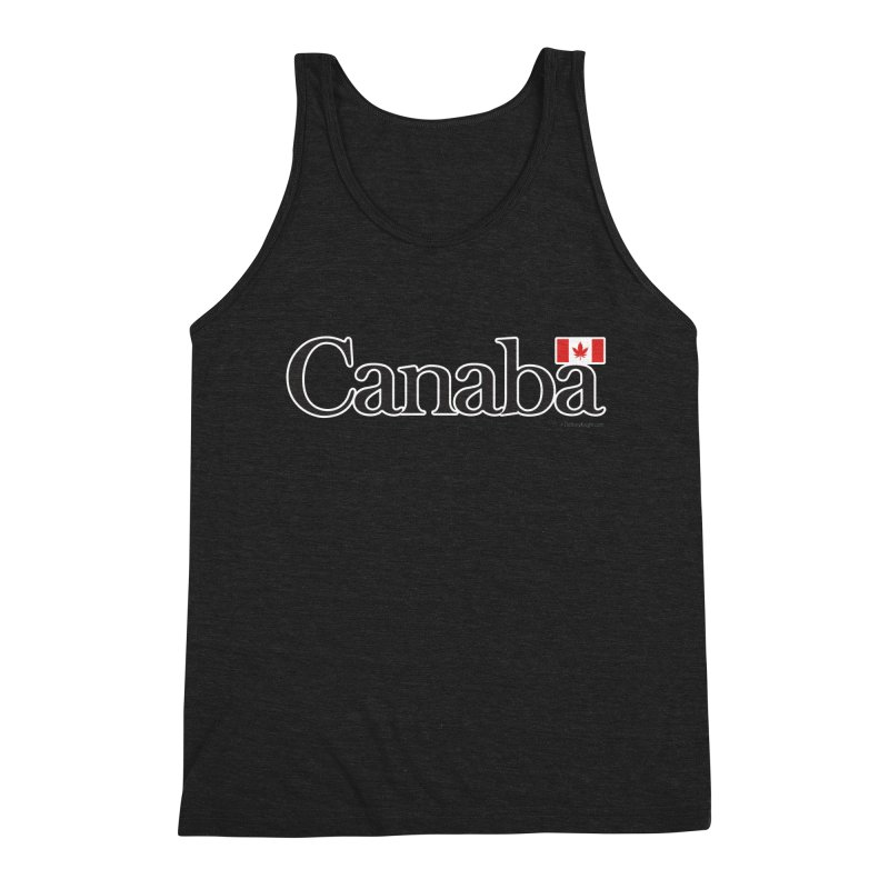 Canaba - Style B Men's Triblend Tank by Zachary Knight | Artist Shop