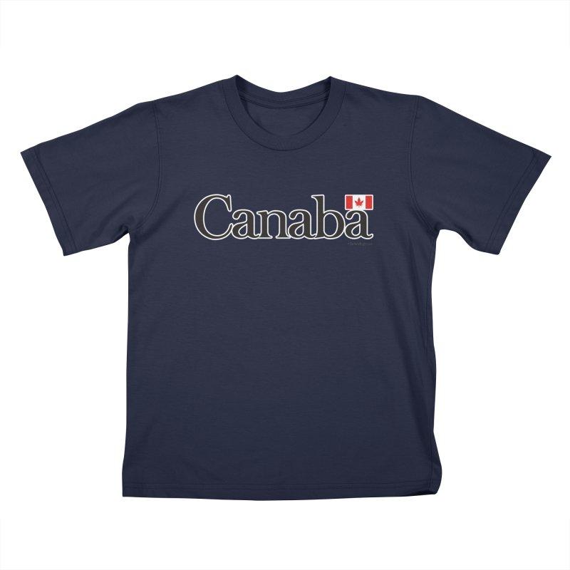 Canaba - Style B Kids T-Shirt by Zachary Knight | Artist Shop