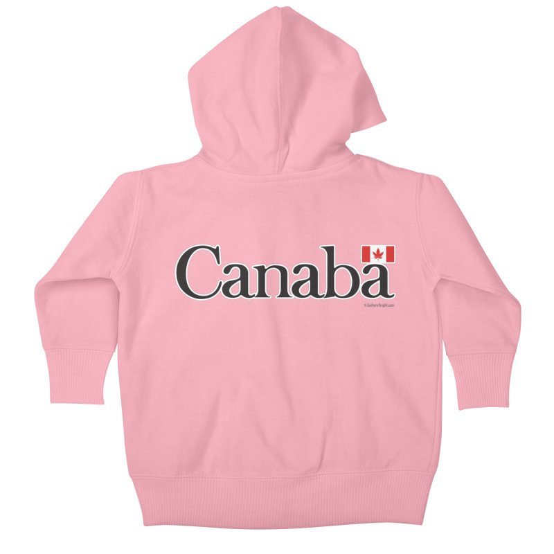 Canaba - Style B Kids Baby Zip-Up Hoody by Zachary Knight | Artist Shop