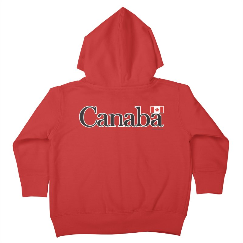 Canaba - Style B Kids Toddler Zip-Up Hoody by Zachary Knight | Artist Shop