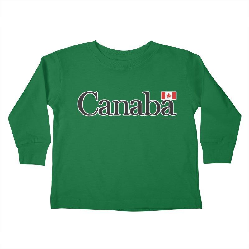 Canaba - Style B Kids Toddler Longsleeve T-Shirt by Zachary Knight | Artist Shop