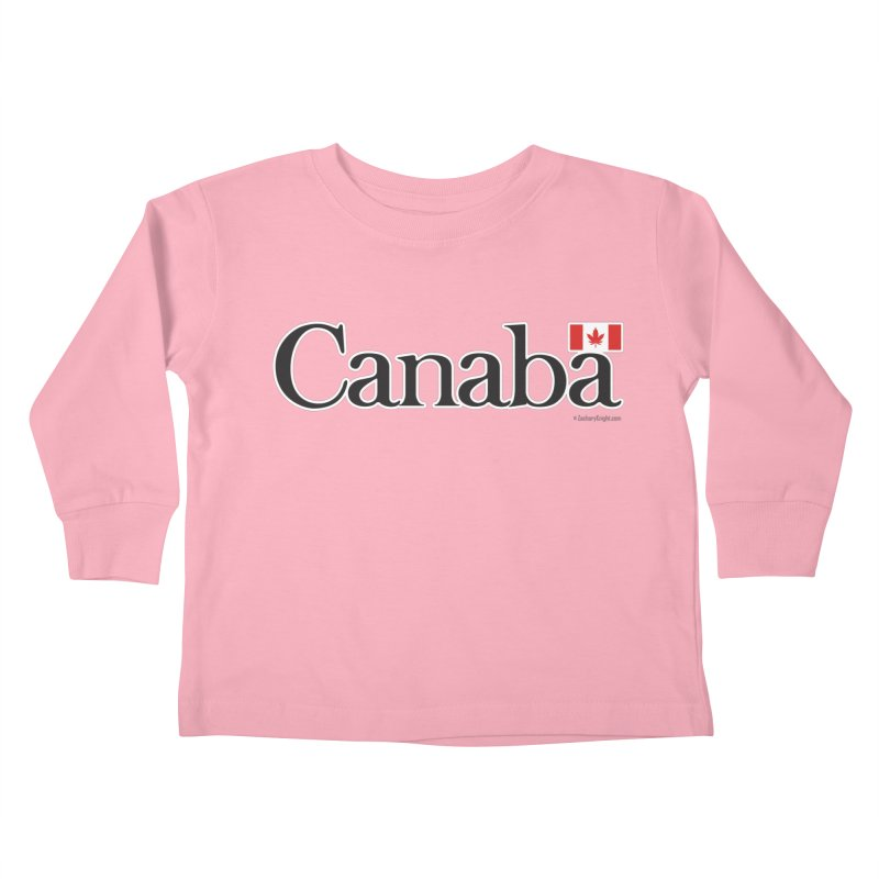 Canaba - Style B Kids Toddler Longsleeve T-Shirt by Zachary Knight | Artist Shop