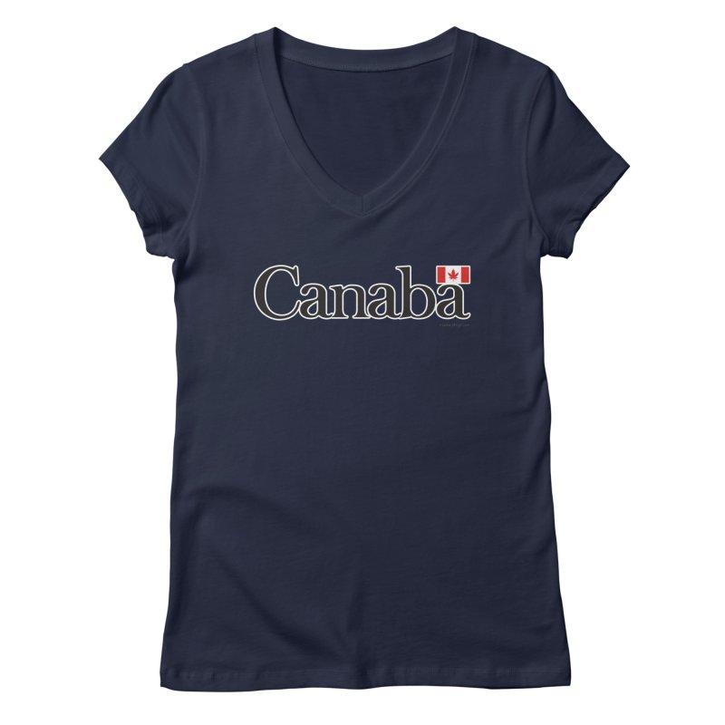 Canaba - Style B Women's V-Neck by Zachary Knight   Artist Shop