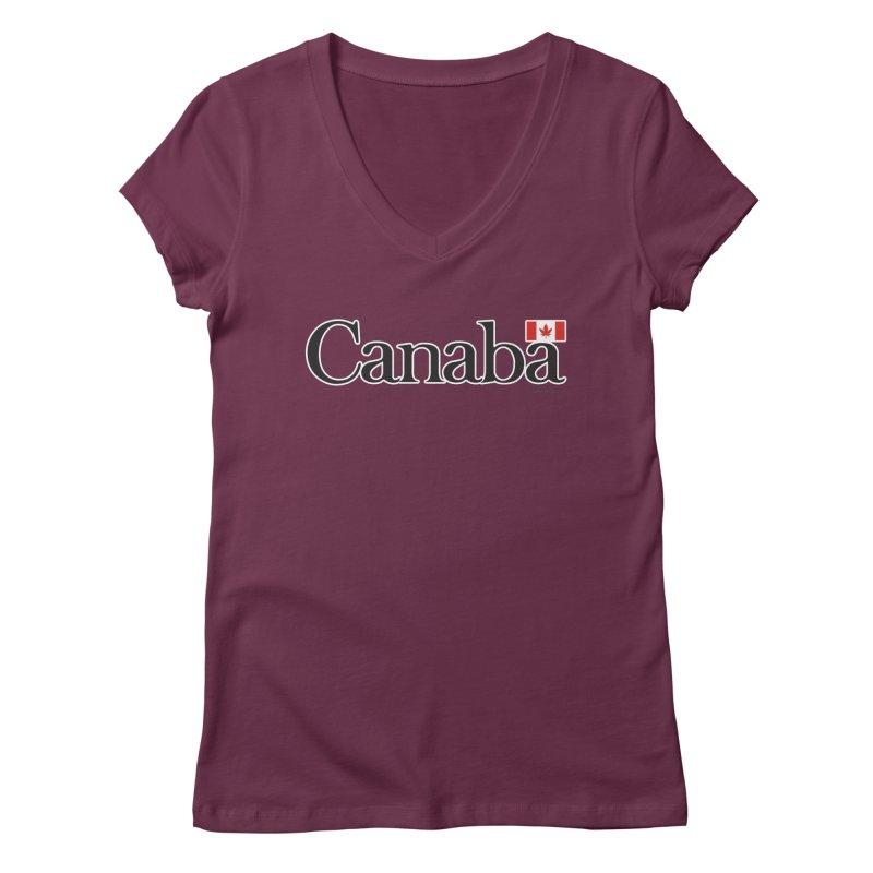 Canaba - Style B Women's Regular V-Neck by Zachary Knight | Artist Shop