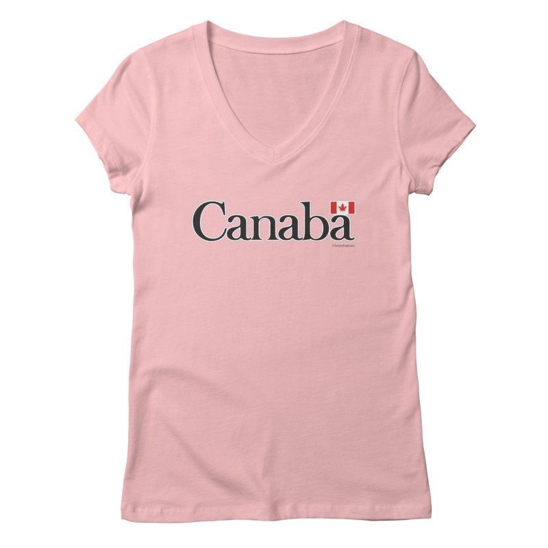 Canaba - Style B Women's Regular V-Neck by Zachary Knight | Artist Shop