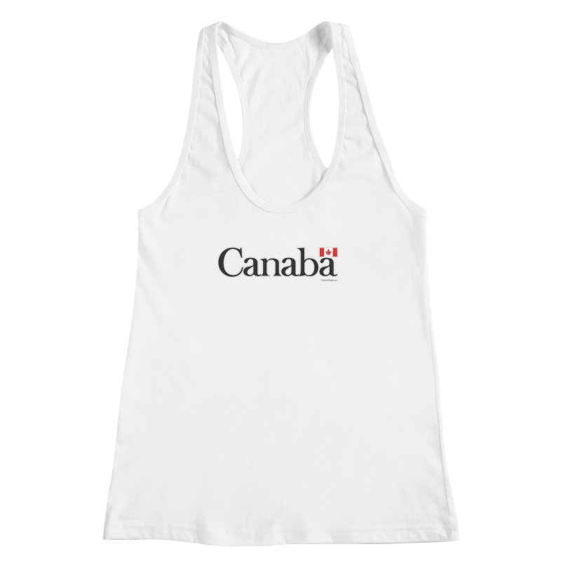 Canaba - Style B Women's Racerback Tank by Zachary Knight | Artist Shop