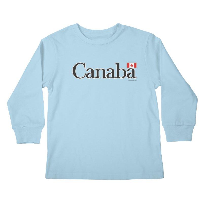 Canaba - Style B Kids Longsleeve T-Shirt by Zachary Knight | Artist Shop