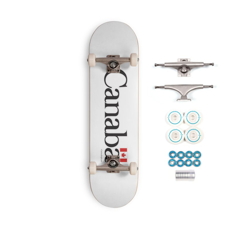 Canaba - Style B Accessories Complete - Basic Skateboard by Zachary Knight | Artist Shop