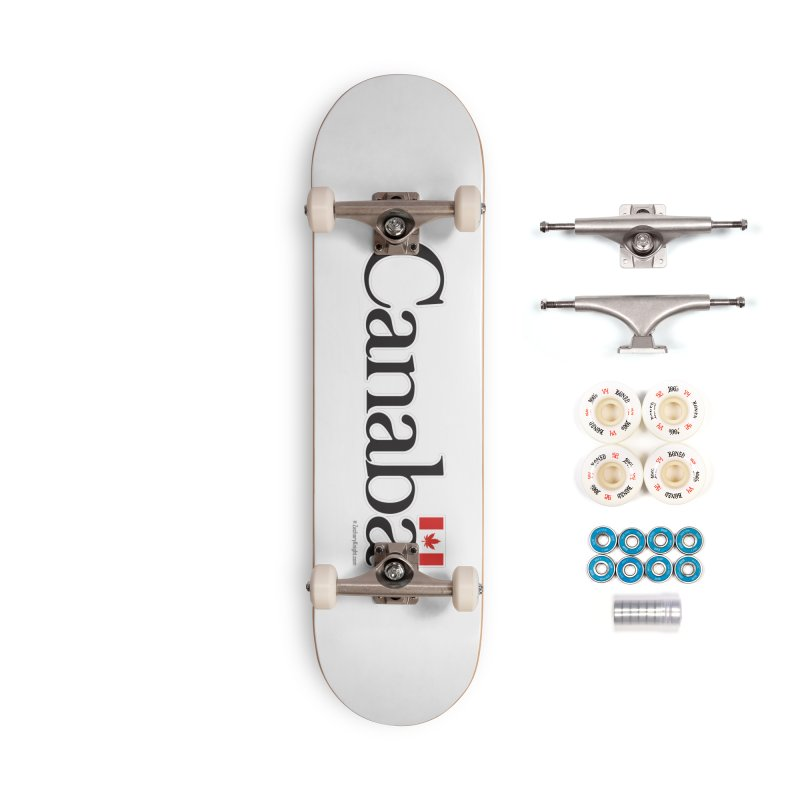 Canaba - Style B Accessories Skateboard by Zachary Knight | Artist Shop